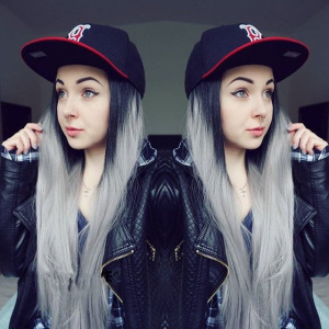 Black To Grey Ombre 26